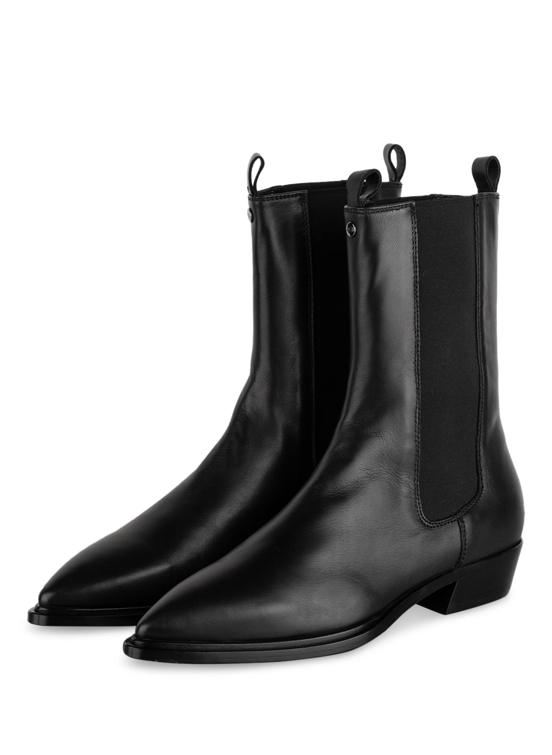 Image of Agl Chelsea-Boots Mahe schwarz