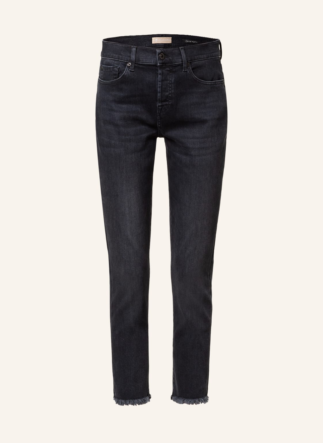 Image of 7 For All Mankind 7/8-Jeans Asher schwarz