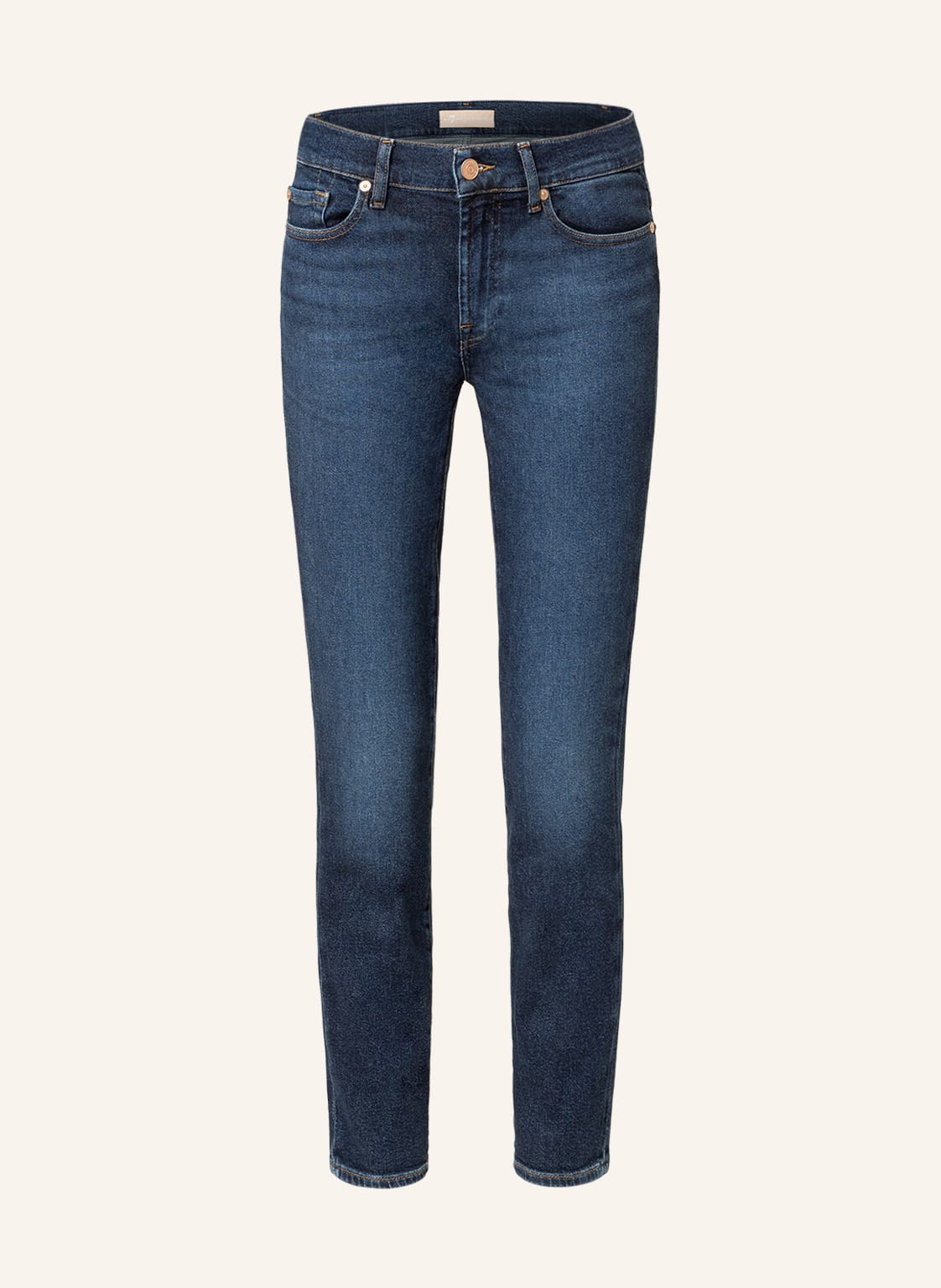 Image of 7 For All Mankind 7/8-Jeans Pyper Crop blau