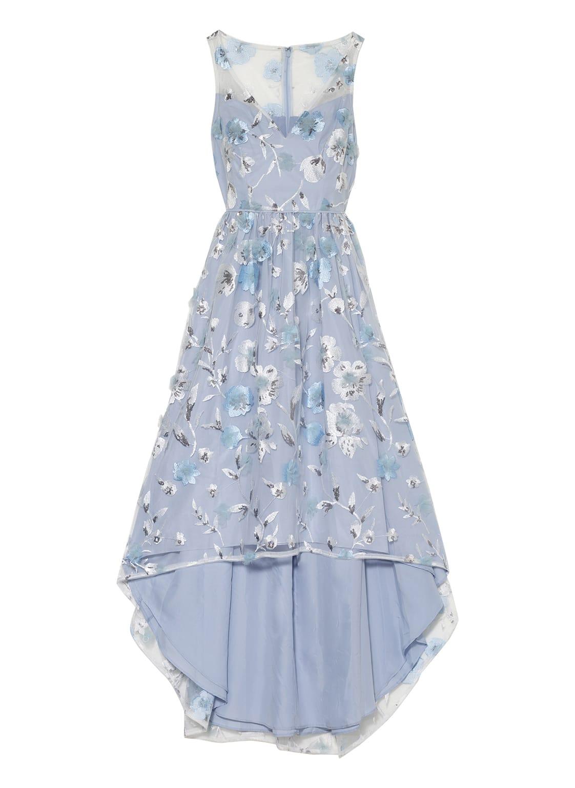 Image of Adrianna Papell Abendkleid Mit Paillettenbesatz blau