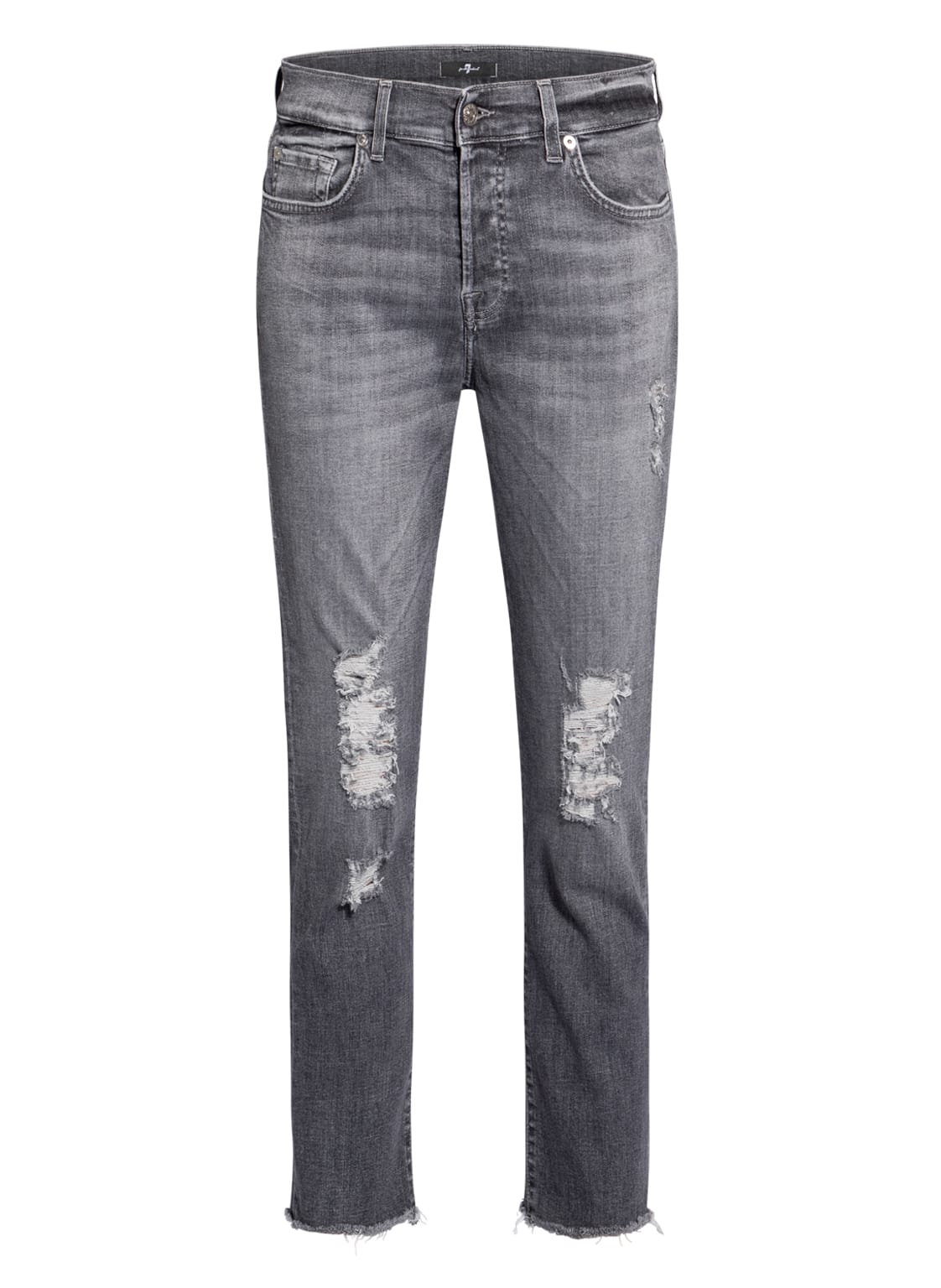 Image of 7 For All Mankind 7/8-Jeans Asher grau