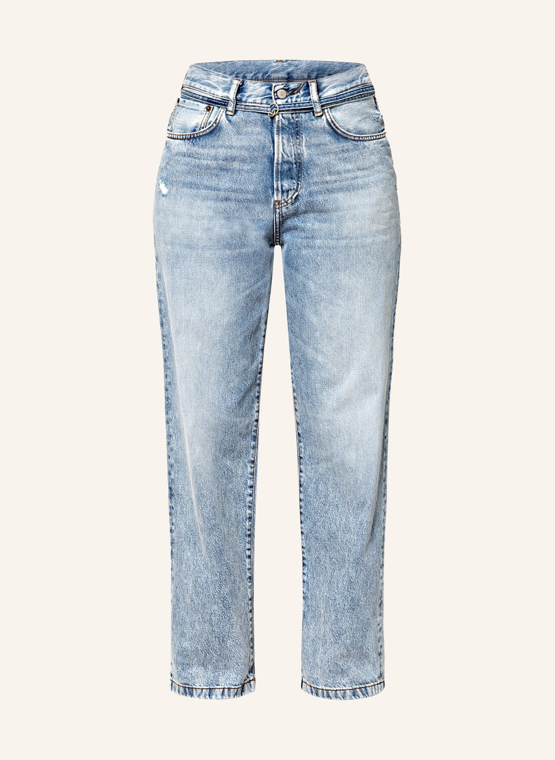 Image of Acne Studios Boyfriend Jeans blau