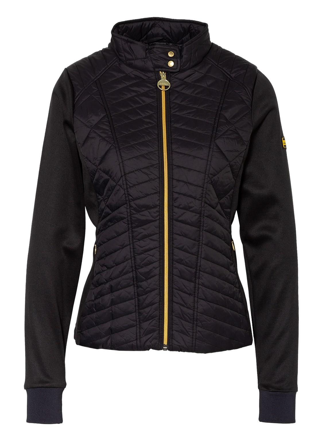 Image of Barbour International Jacke Im Materialmix schwarz