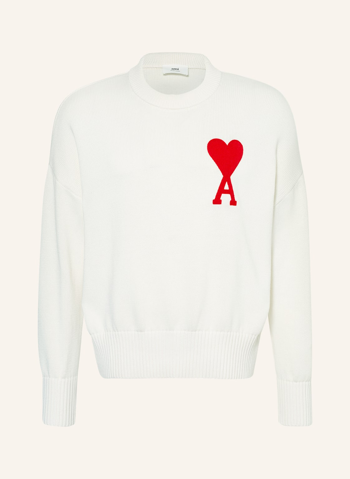Image of Ami Pullover weiss