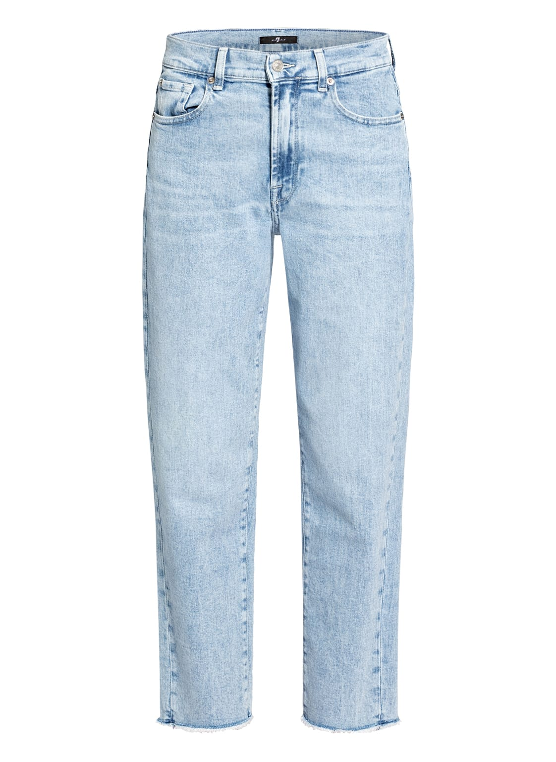 Image of 7 For All Mankind 7/8-Jeans blau