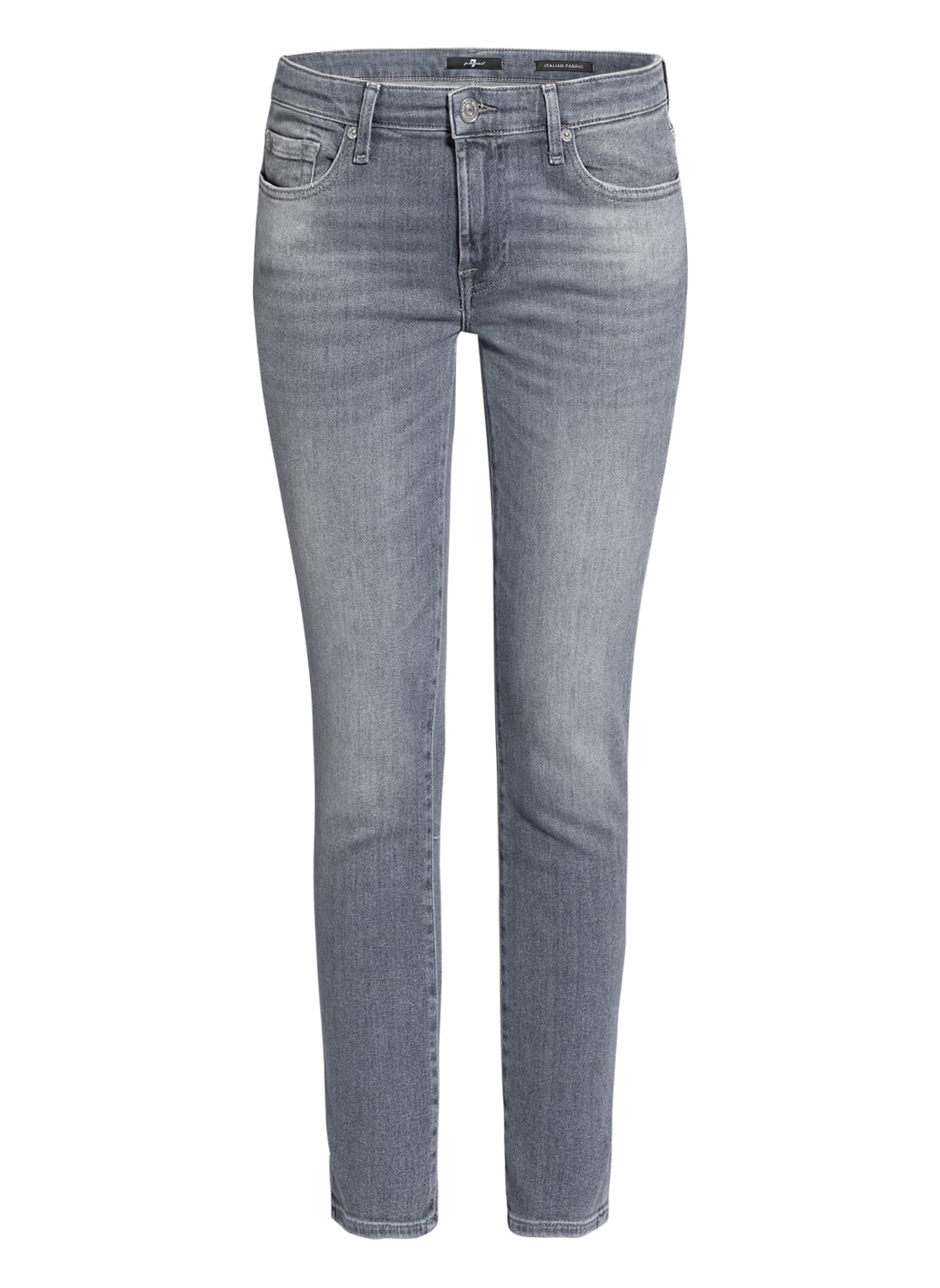 Image of 7 For All Mankind 7/8-Jeans Pyper Crop grau
