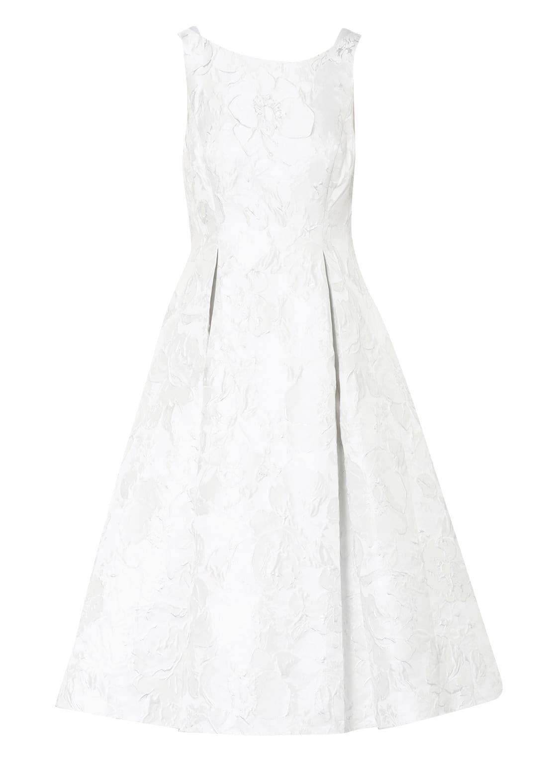 Image of Adrianna Papell Jacquard-Kleid beige