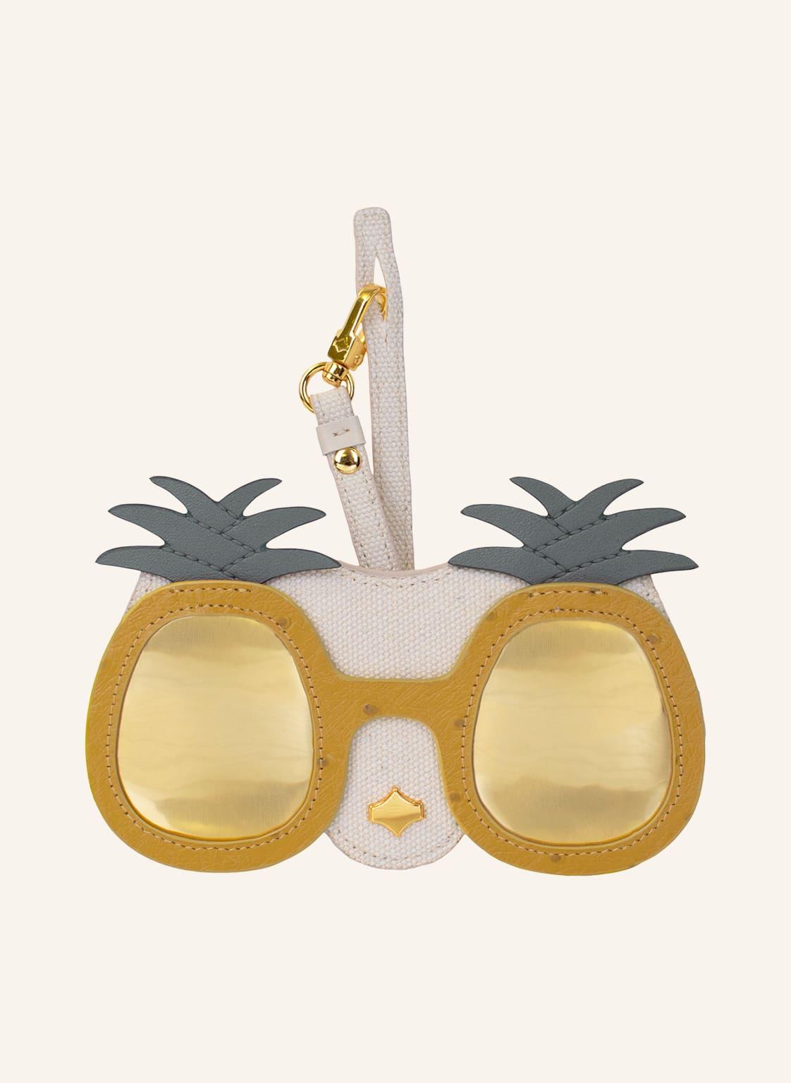 Image of Any Di Brillenetui Pineapple gelb