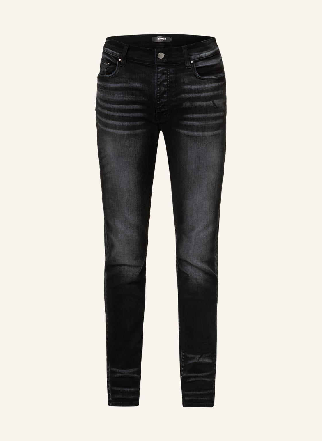Image of Amiri Destroyed Jeans Extra Slim Fit schwarz