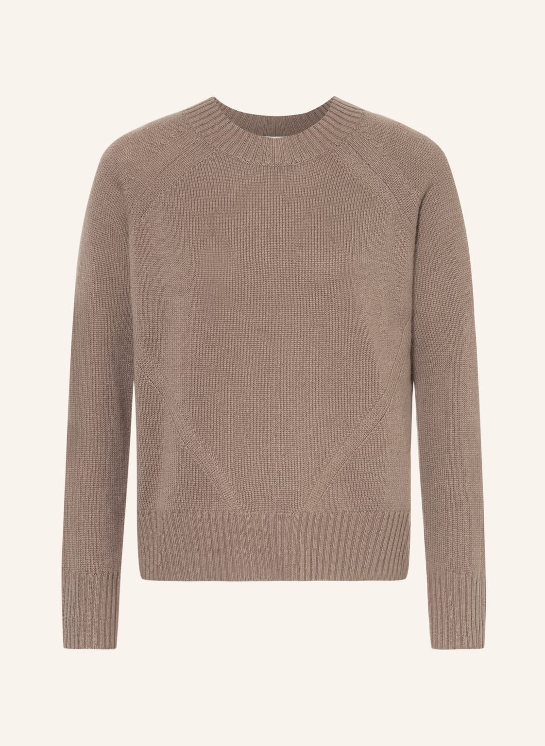 Image of Allude Cashmere-Pullover gruen