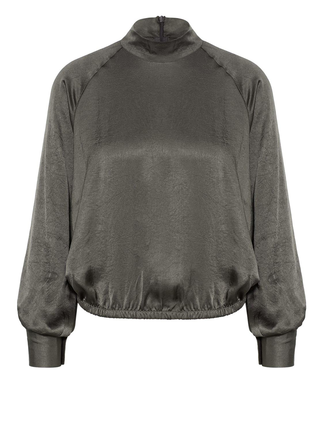 Image of American Vintage Bluse Wid grau