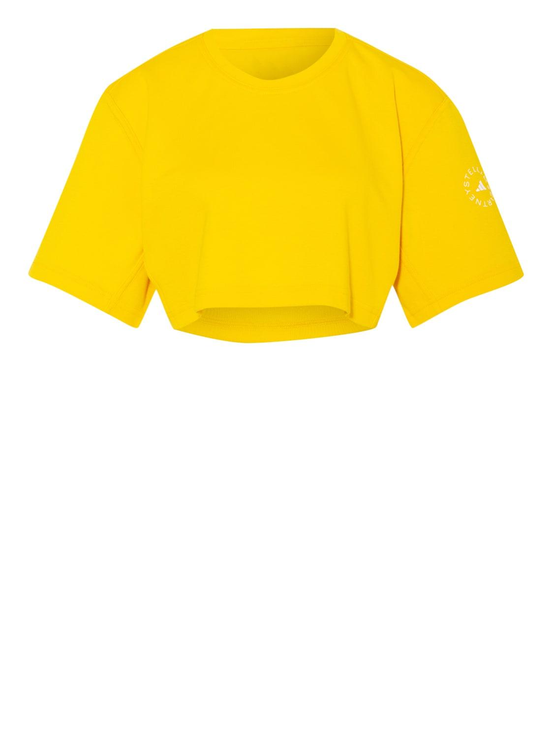 Image of Adidas By Stella Mccartney Cropped-Shirt Future Playground gelb
