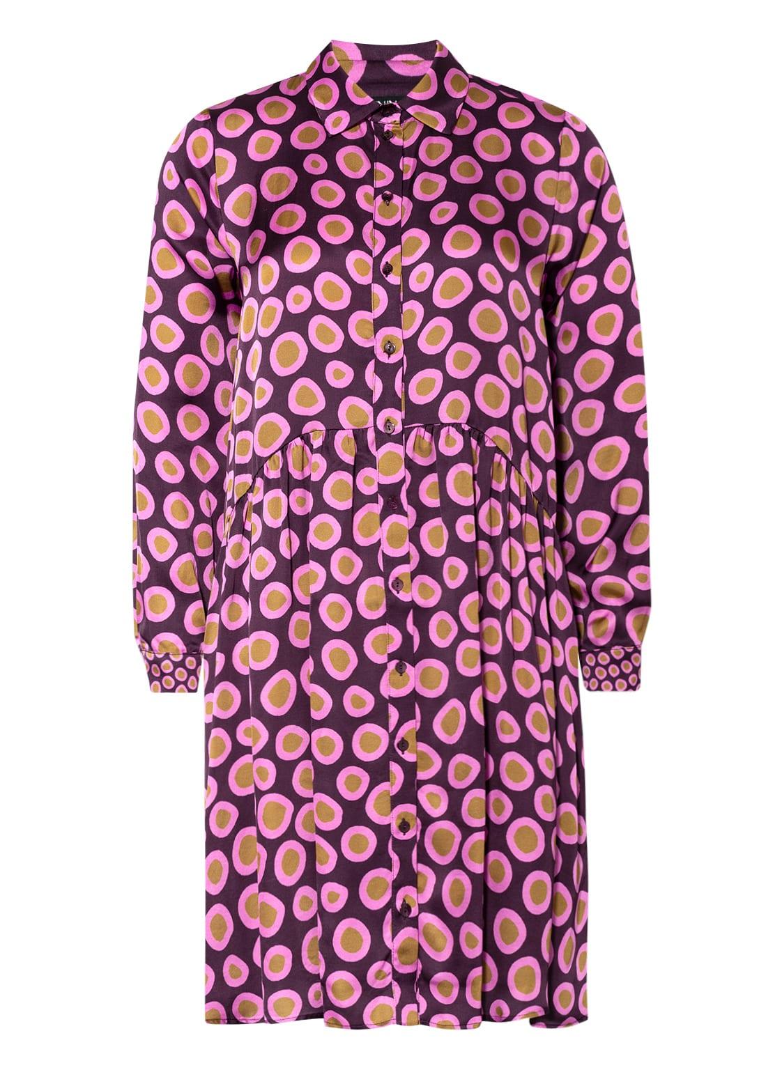Image of Anna's Hemdblusenkleid pink