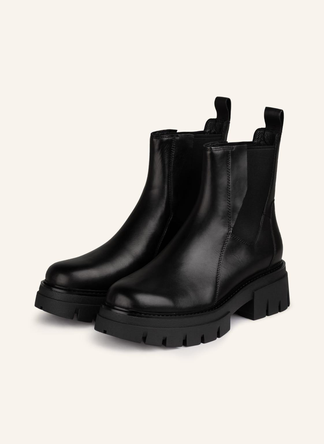 Image of Ash Chelsea-Boots Links schwarz