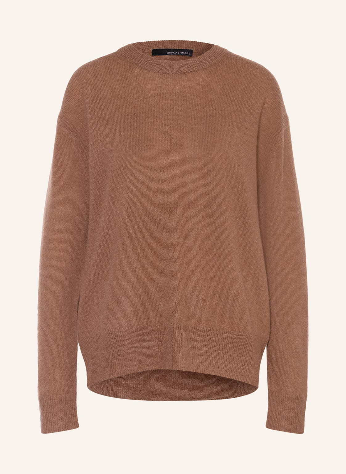 Image of 360cashmere Cashmere-Pullover Daphne braun