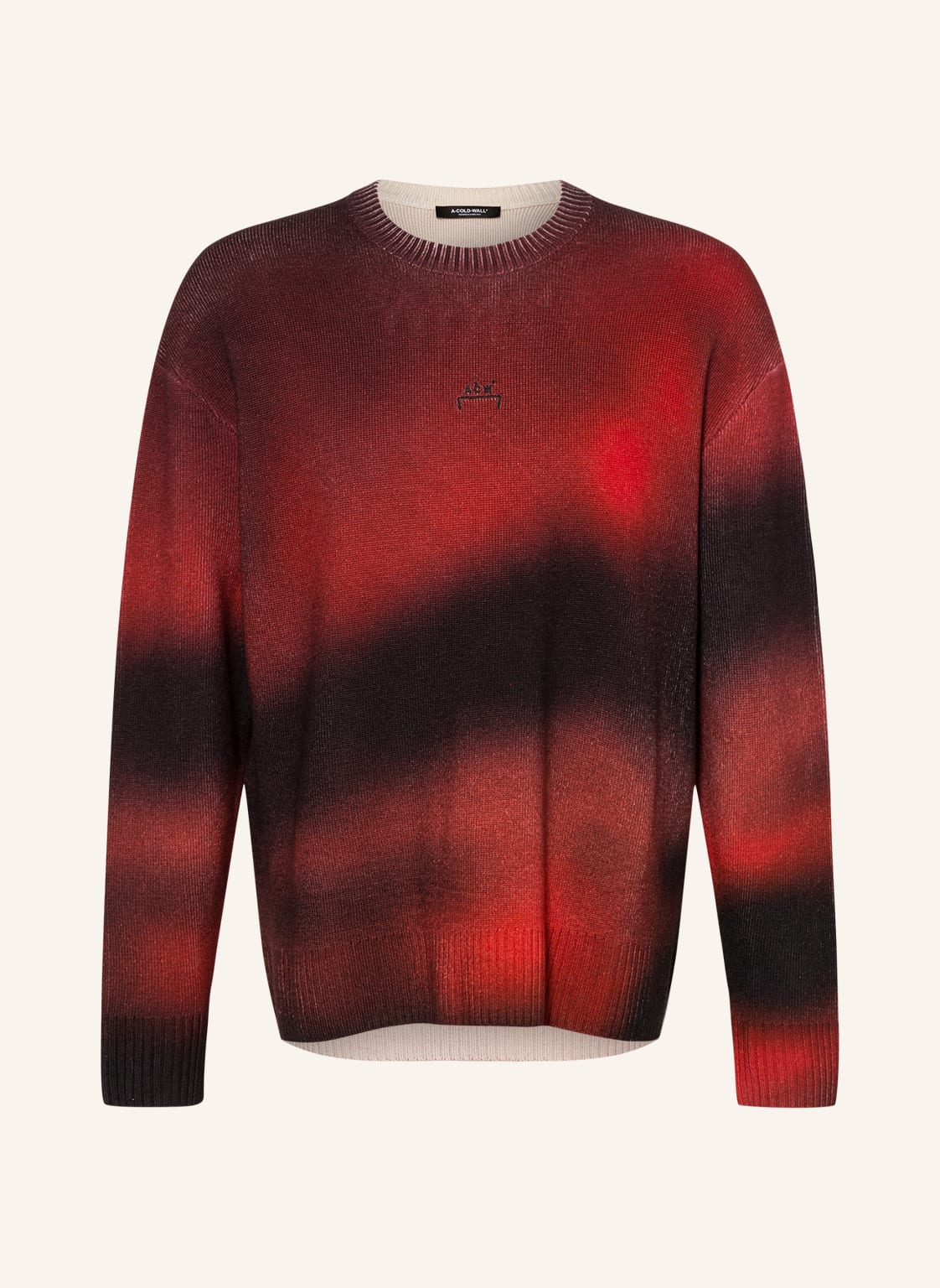 Image of A-Cold-Wall* Oversized-Pullover rot