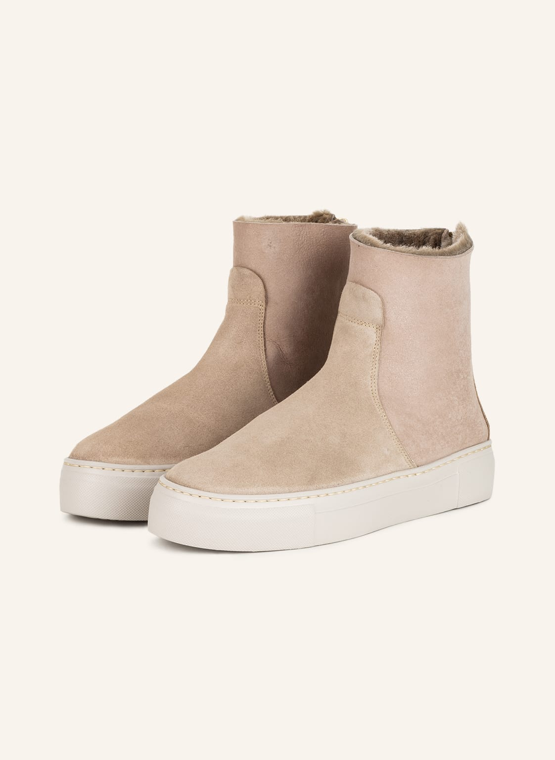 Image of Agl Boots beige
