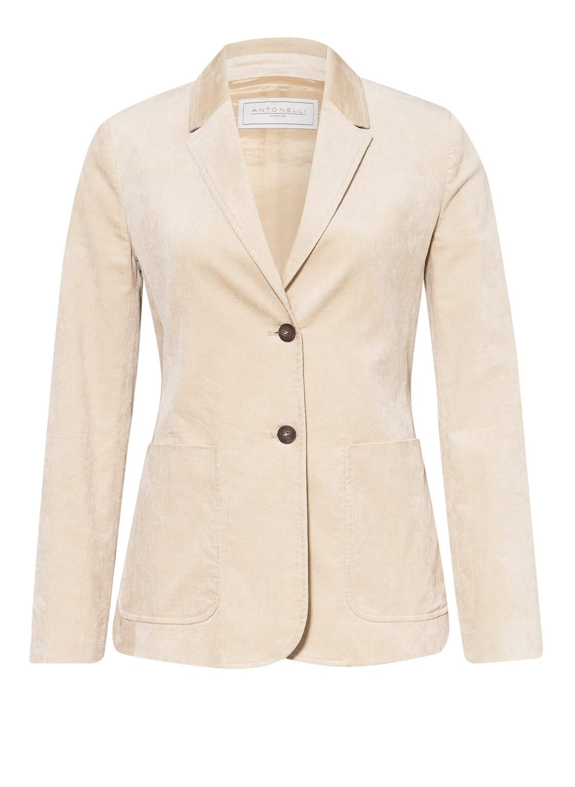 Image of Antonelli Firenze Blazer beige