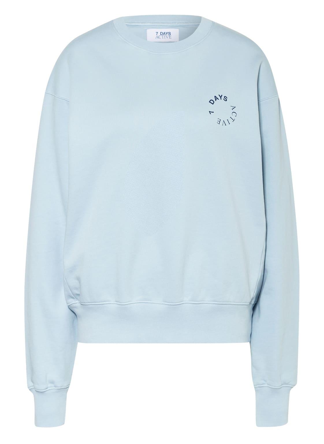 Image of 7 Days Active Sweatshirt blau