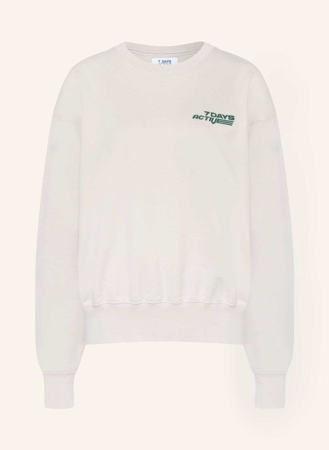 Image of 7 Days Active Sweatshirt Monday grau