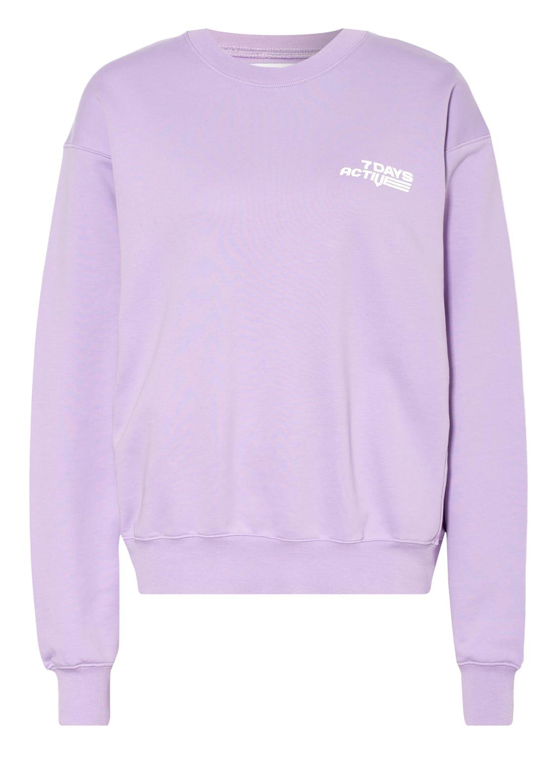Image of 7 Days Active Sweatshirt Monday violett