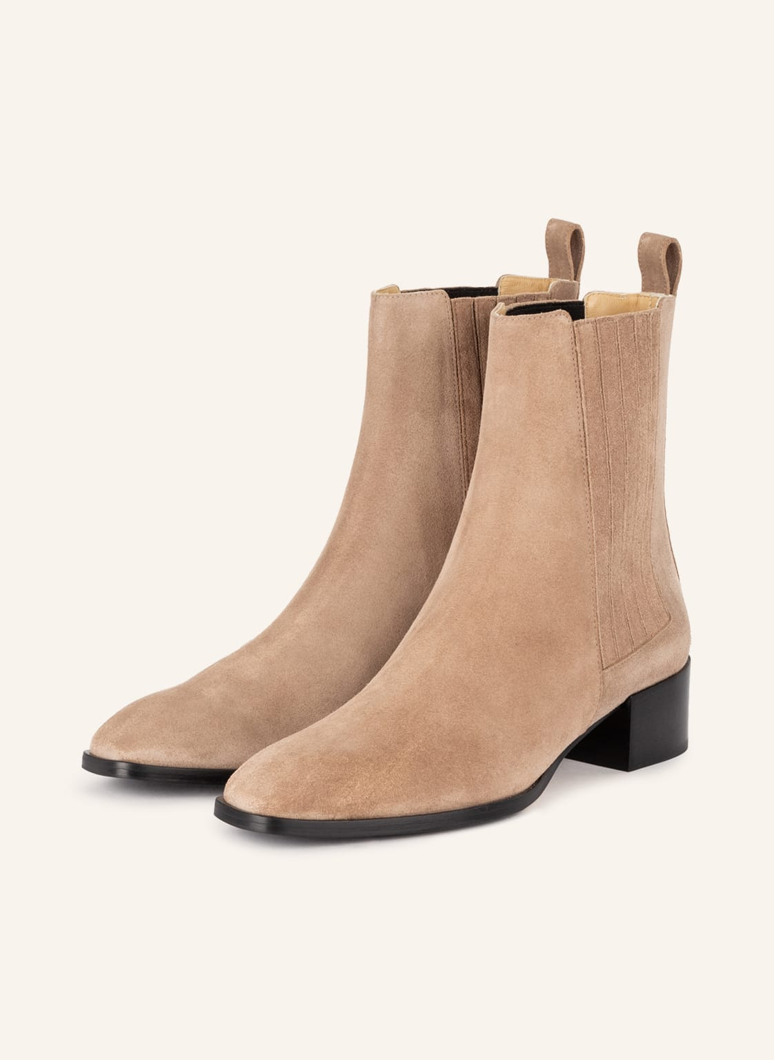 Image of Aeyde Chelsea-Boots Neil beige
