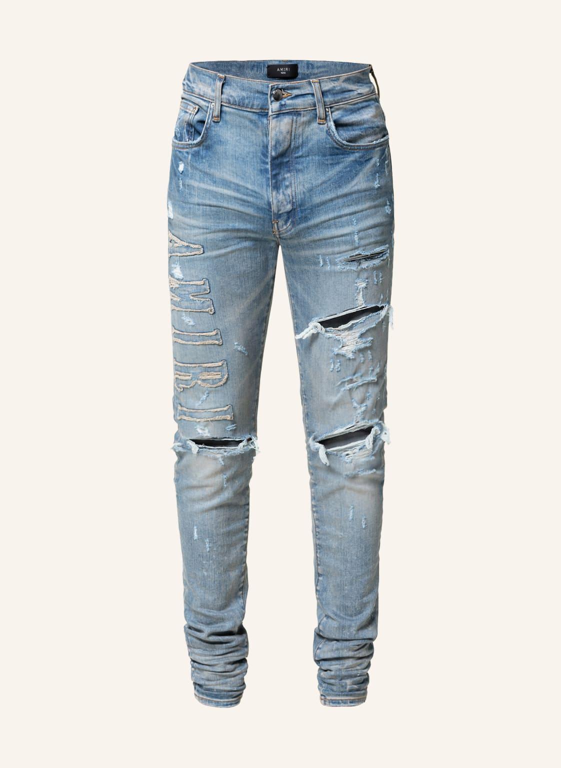 Image of Amiri Destroyed Jeans blau