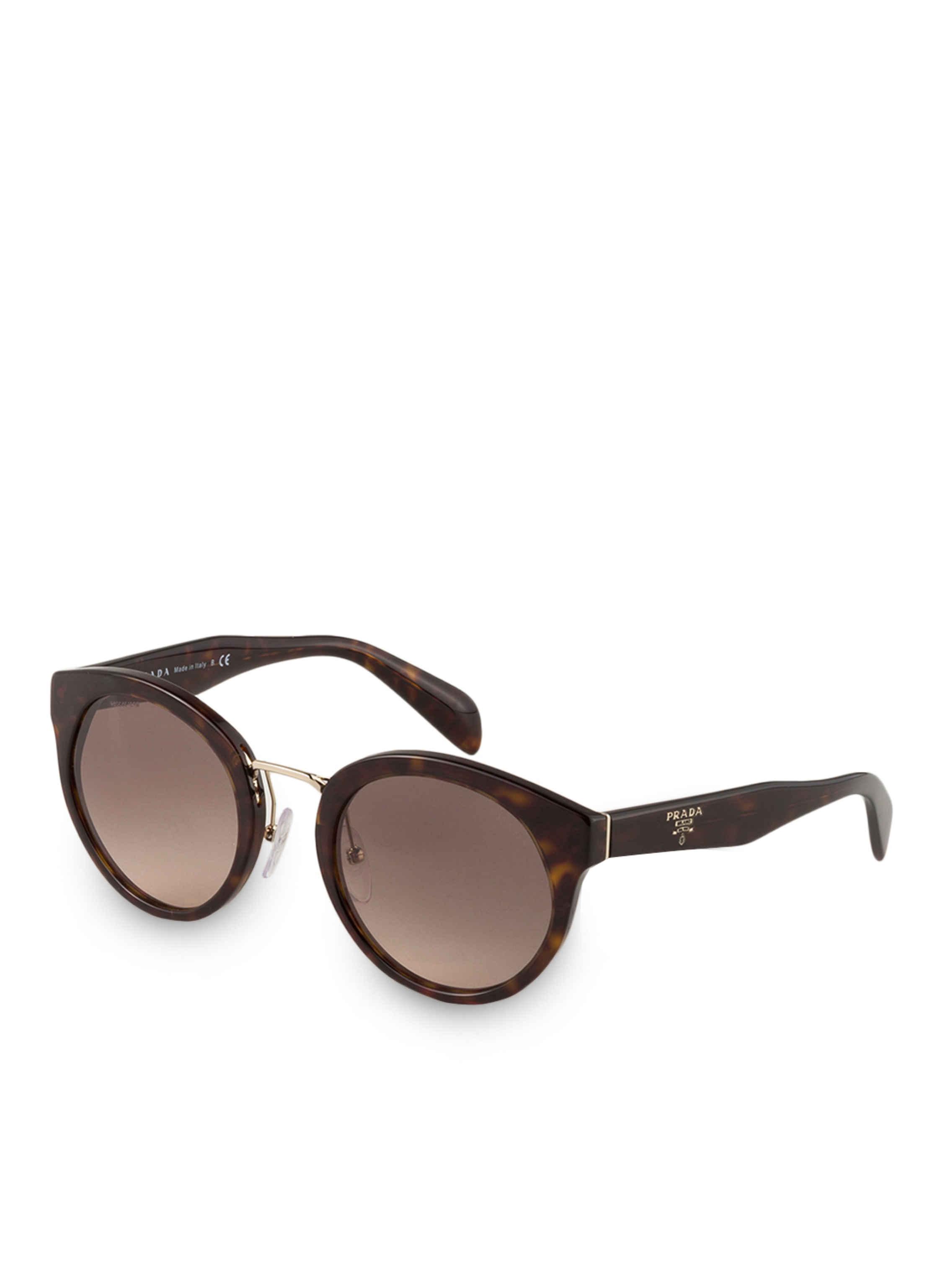PRADA Prada Damen Sonnenbrille » PR 05TS«, braun, 2AU3D0 - braun/braun