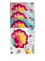 PIP studio Handtuch FLORAL FANTASY, Farbe: TÜRKIS/ WEISS/ ROT (Bild 1)