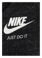 Nike Sweatjacke GYM VINTAGE, Farbe: SCHWARZ (Bild 1)
