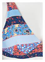 SEAFOLLY Bikini-Top CARIBBEAN KOOL, Farbe: BLAU/ HELLBLAU/ ROT (Bild 1)