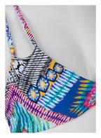 PILYQ Bikini-Top, Farbe: MINT/ PINK/ GELB (Bild 1)