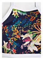 Freya High-Neck-Bikini-Top, Farbe: DUNKELBLAU/ GELB/ GRÜN (Bild 1)