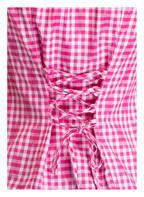 Wiesnkönig Trachtenbluse GITTA, Farbe: ROSA/ WEISS KARIERT (Bild 1)