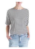 SAMSØE & SAMSØE T-Shirt MAINS, Farbe: CREMÉ/ WEISS GESTREIFT (Bild 1)