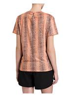 THE UPSIDE T-Shirt PYTHON, Farbe: KORALLE/ SCHWARZ (Bild 1)