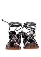 INUOVO Sandalen, Farbe: SCHWARZ/ WEISS (Bild 1)
