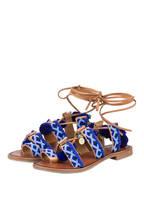 INUOVO Sandalen, Farbe: BRAUN/ BLAU (Bild 1)