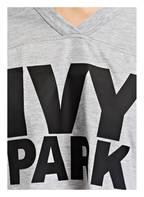 IVY PARK Cropped-Top IVY PARK, Farbe: GRAU/ SCHWARZ (Bild 1)