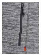 VAUDE Strick-Fleecejacke RIENZA , Farbe: HELLGRAU MELIERT (Bild 1)