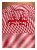 Wiesnkönig Trachtenhemd LASSE, Farbe: ROT/ WEISS (Bild 1)
