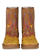 UGG Fell-Boots made with SWAROVSKI ELEMENTS, Farbe: CHESTNUT (Bild 1)