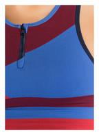 LNDR Sport-BH WILDCAT , Farbe: DUNKELROT/ ROT/ BLAU (Bild 1)