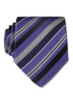OLYMP Krawatte, Farbe: VIOLET/ GRAU (Bild 1)