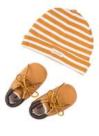 Timberland Set: Schuhe und Mütze in Geschenkbox, Farbe: BEIGE (Bild 1)