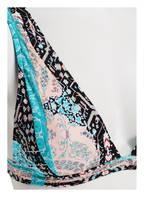 SEAFOLLY Triangel-Bikini-Top MOROCCAN MOON, Farbe: TÜRKIS/ SCHWARZ/ ROSE (Bild 1)
