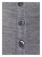 FALKE Funktionswäsche-Shirt SILK-WOOL aus Merinowolle/Seide-Gemisch, Farbe: HELLGRAU MELIERT (Bild 1)