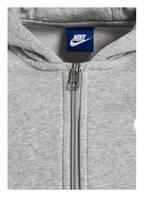 Nike Hoodie BRUSHED FLEECE, Farbe: GRAU MELIERT (Bild 1)