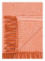 PROFLAX Plaid CLOUD, Farbe: MANGO (Bild 1)