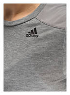 adidas T-Shirt PRIME MIX, Farbe: GRAU MELIERT (Bild 1)